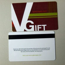 Best custom printing 4color pvc discount shopping voucher card