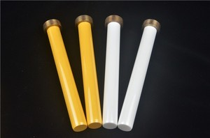 High desntiy white and yellow Zirconia ceramic plunger