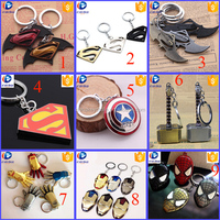 Wholesale 2016 Most Complete hot Marvel Super Hero Keychain