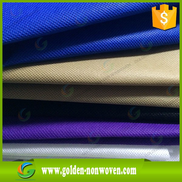 Different color non-woven textile materials for furniture backing ,nonwoven polypropylene fabric spun bonded