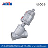 MT Manufacturer Pneumatic SS Thread Angle Seat Valve With Stainless Steel Actuator double/single Acting good price