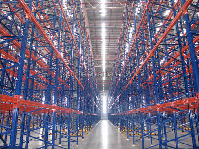 Heavy Duty Steel Racks Metal Pallet Warehouse Shelf System