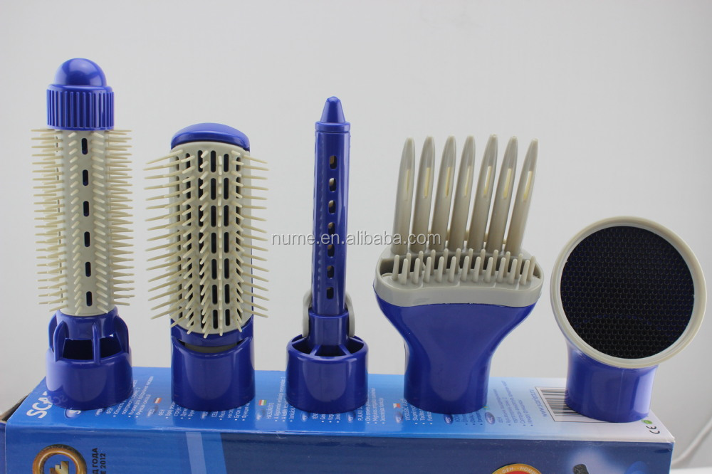SQ-600-5 Hot selling multi-function hot air electric hair brush with low price