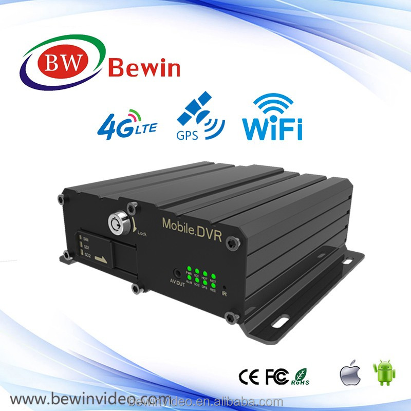 car camcorder mobile vehicle blackbox dvr user HD 4ch Wifi GPS 3G Mobile DVR