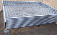 high heavy and stronger sectional temporary fence panel