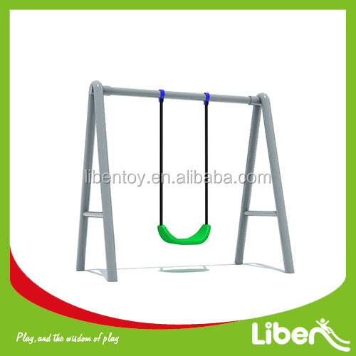 Liben new high quality children playground outdoor garden single swing for sale