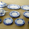 Dollhouse Miniature Porcelain 1 12