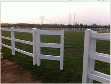 Wholesale horse fencing/cattle yard panel pvc tube horse fence