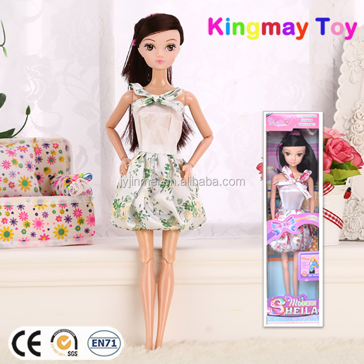 2016 New Design Vinyl Doll Pretty Girl Barbiee Dolls For Sale