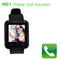 Bluetooth Hours Android Smart Watch U8 Mtk U Watch U8 Wristwatch Watch For 4/4s/5/5s Phone Smartwatch
