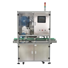 Real time print and apply labeling machine label applicator system and logo barcode QR printing device <strong>equipment</strong> for flat goods