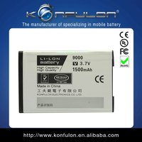 Konfulon lithium ion battery high quality real mah battery for blackberry