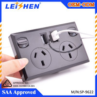 10A USB Charger Home Wall Power Socket SAA Approval for Samsung S6 S5 S4 Note5