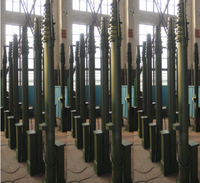 15m Mobile Motorized Telescopic Telecommunication Pole
