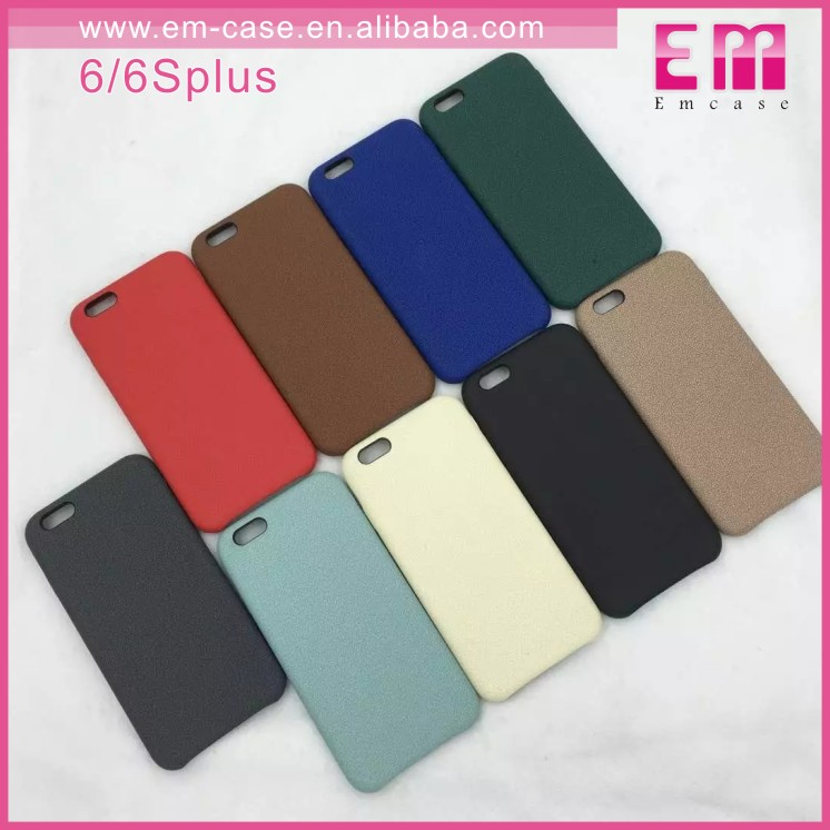 Fully Phone Cover Leather Case For iPhone 6S 6S Plus, Back PU Case For iPhone 6S