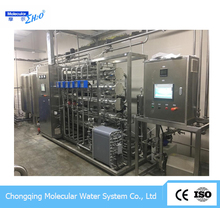FDA/BP Approved Fully Automatic Industry Manufacture EDI RO Pure Water System