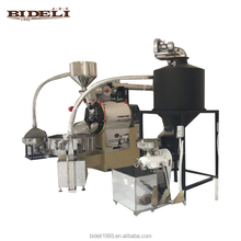 Bideli high quality 20kg industrial coffee bean roaster/coffee roaster machine