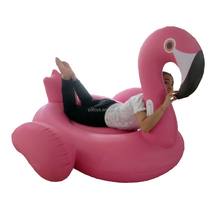 2016 new water float ride on giant inflatable flamingo float
