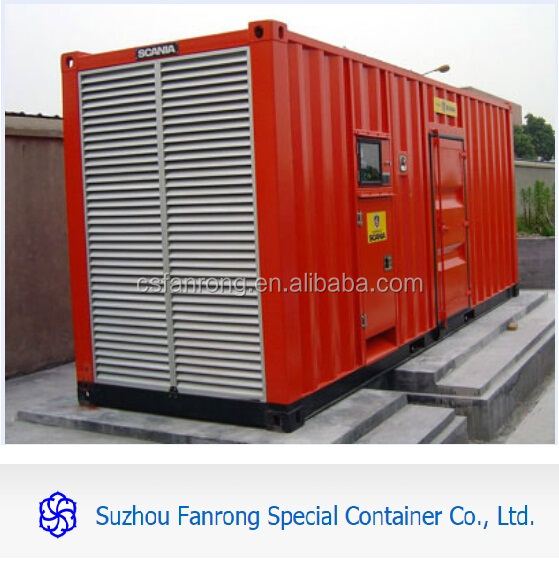 10ft 20ft 40ft reefer container with generators