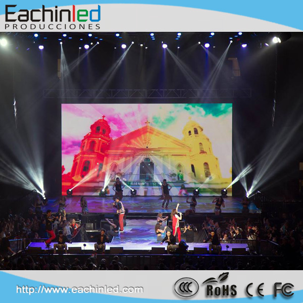 Die Casting Aluminum 500mmX1000mm Cabinet Background DJ Stage Led Screen