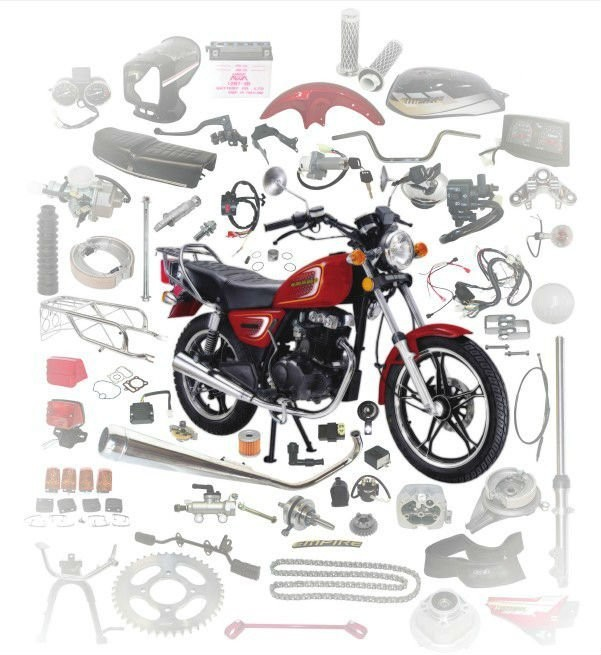 Chinese wholesale best price custom good quality motorcycle spare parts