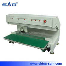 Circular blade moving type pcb depaneling machine
