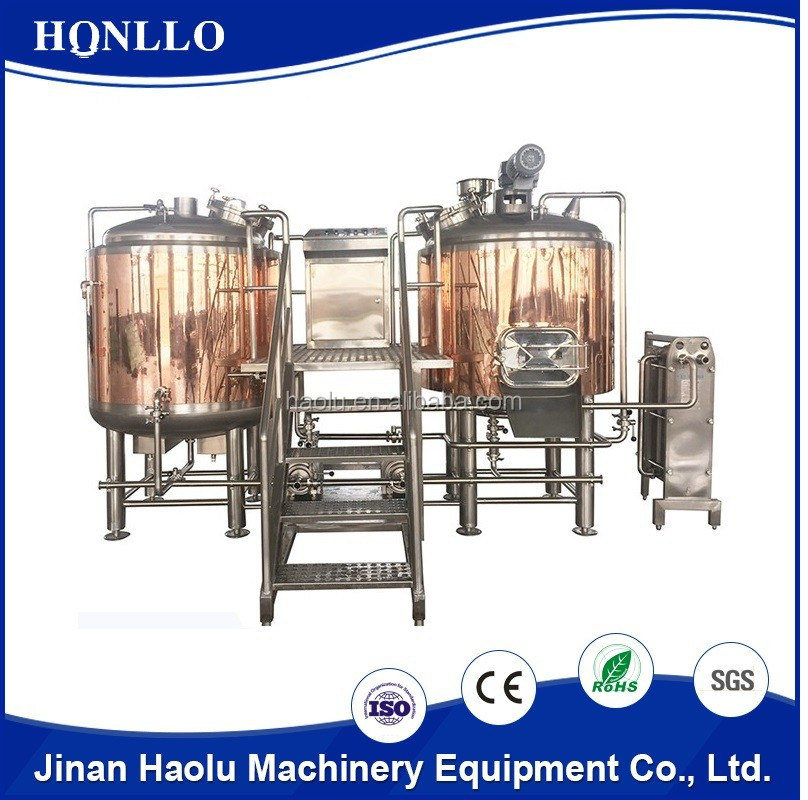Haolu made 10 years warranty bar/pub used brew equipment for beer for sale