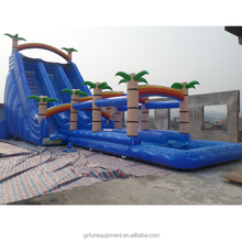 TOP selling COCO cheap inflatable mega water pool slides for kids or adults