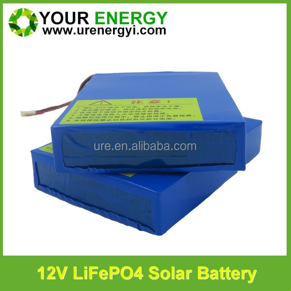 camping kits 24v 200ah deep cycle solar battery nife battery