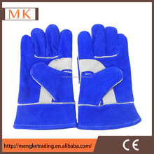 short welder Split Leather Working Gloves