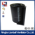 With 35 years experience air cleaner fresh air system UL approval AC double inlet Centrifugal Fan 146mm