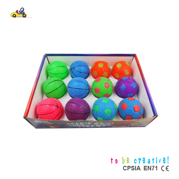 Hot Sell Soft sport bounce ball toy, Flexible ball, Nontoxic Ball Toy