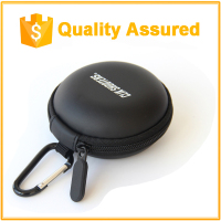Waterproof case mini size hearing aid storage case With Zipper Closure