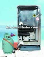 Non electronic refrigerator YMH-GAS240 220V LPG Gas absorption refrigerator& freezer LP Gas Freezer /Propane Gas /12V Deep Chest