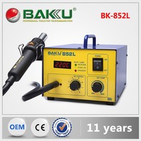 new product LED Digital BGA hot air smd rework soldering station BK852L