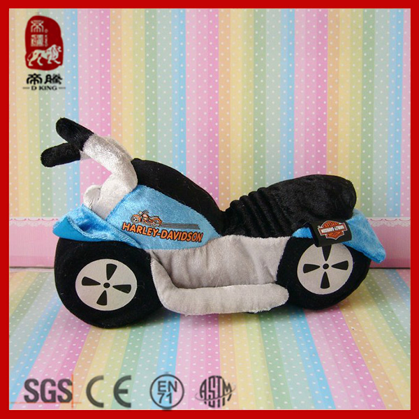 Popular 2014 New Product Plush Motorcycle Toy Plush Toy Stuffed Soft Kids Toy
