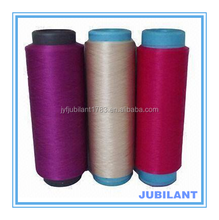 Dope dyed 100%polyester DTY intustrial yarn For umbrella ,clothes