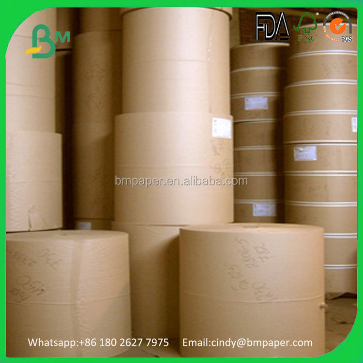 2016 China Paper Mill Excellent Brown Kraft Corrugated Fluting paper