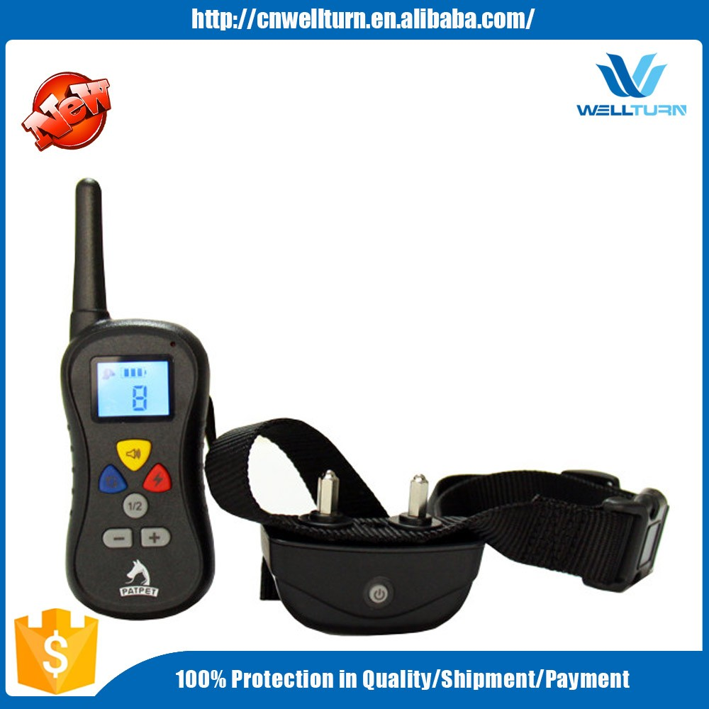 USA Hot multi-dog electro shock vibration tone 3 in 1 dog trainer PTS008