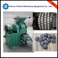 High pressure professional manufacturing factory directly supply roller press coal briquetting machine