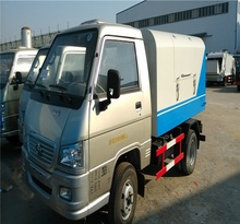 Low price FOTON 2-3m3 mini sealed garbage truck for sale