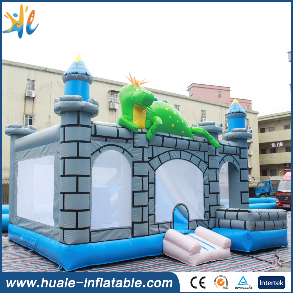 New design inflatable crocodile bouncy house ,used bouncy castles for sale