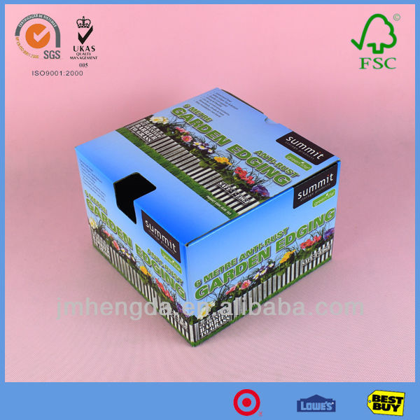 High Quality Made In China Die Cut Carton Box With Colorful Design