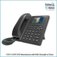 "Amazing! 802.11n wifi sip phone wireless ip phone with 2.8"" TFT colorful LCD, FXO ports,POE optional FIP11W"