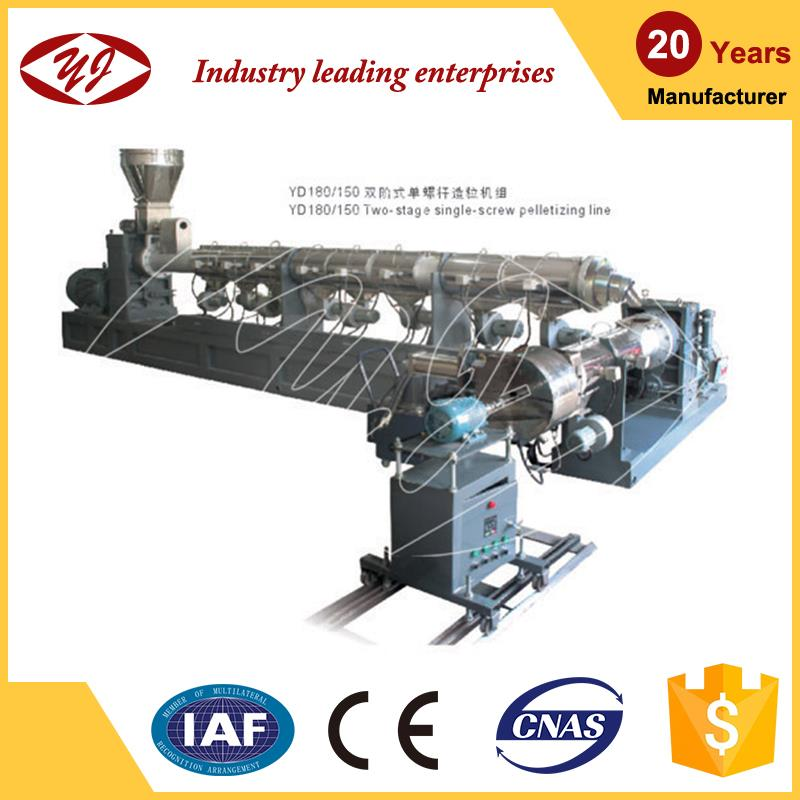 Extrusion Line pp/pe recycling machine for pelletizing
