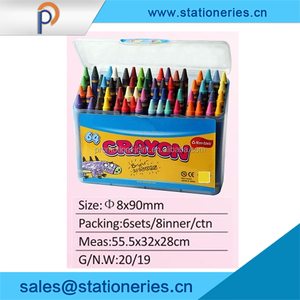 Eco-friendly Paraffin Non-toxic silky crayon