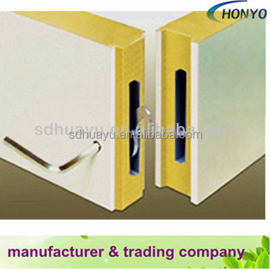 polyurethane foam wall and roof sandwich panel