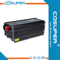 2000w pure sine wave dc to ac inverter with UPS battery charger