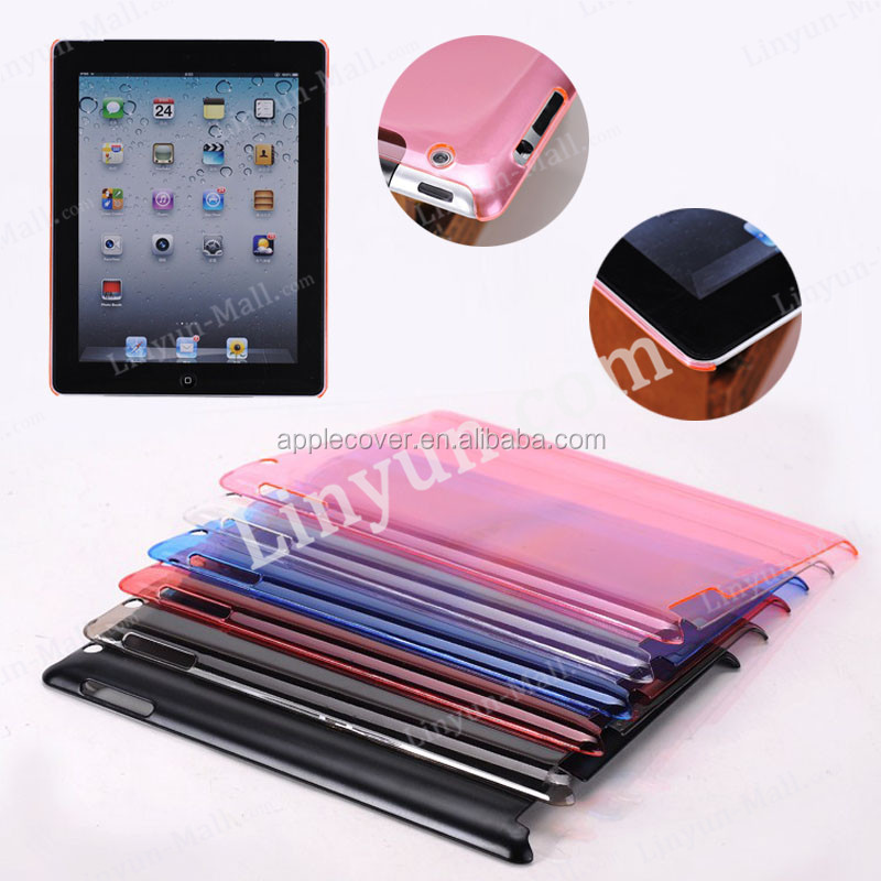 Alibaba Gold supplier for iPad 2/3/4 hard case , For apple ipad 2/3/4 full casings colorful