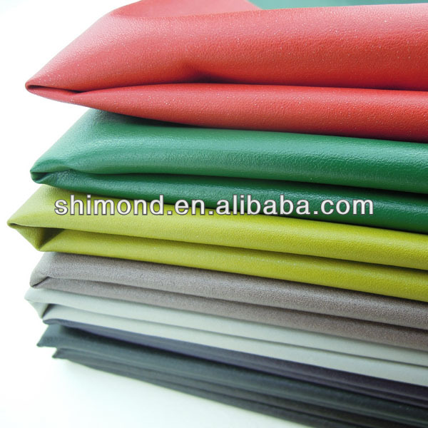 Gradient Color Soft PU Leather Material for Clothes